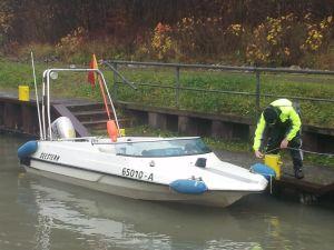 Unser Schulungsboot